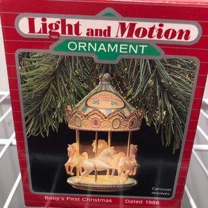 1988 Hallmark Baby First Christmas-magic Orn.